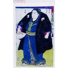 Utagawa Kuniteru: 「足利 稲川政右衛門」 - Waseda University Theatre Museum