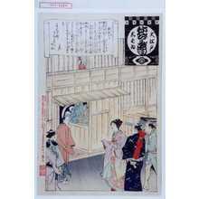 Adachi Ginko: 「大江戸しばゐねんぢうぎやうじ」「楽屋入り」 - Waseda University Theatre Museum