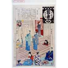 安達吟光: 「大江戸しばゐねんぢうぎやうじ」「大津稲荷」 - 演劇博物館デジタル