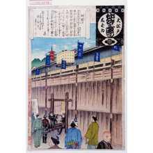 Adachi Ginko: 「大江戸しばゐねんぢうぎやうじ」「板囲ひ」 - Waseda University Theatre Museum
