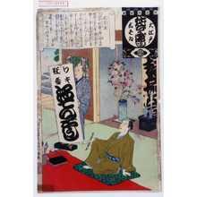 安達吟光: 「大江戸しばゐねんぢうぎやうじ」「感亭流」 - 演劇博物館デジタル