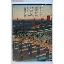 Utagawa Sadahide: 「建久元年源頼朝卿上京行粧之図」 - Waseda University Theatre Museum