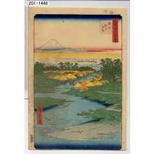 Utagawa Hiroshige: 「名所江戸百景」「堀江ねこざね」 - Waseda University Theatre Museum