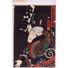 Utagawa Yoshitsuya: 「江戸花夜の賑」 - Waseda University Theatre Museum