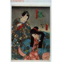 Utagawa Kunisada: 「十二ヶ月の内」「神無月」 - Waseda University Theatre Museum