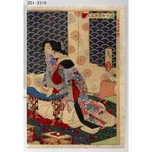 Tsukioka Yoshitoshi: 「越田御殿酒晏之図」 - Waseda University Theatre Museum