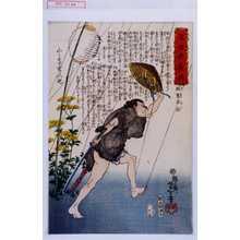 Tsukioka Yoshitoshi: 「近世侠義伝」「風窓半治」 - Waseda University Theatre Museum