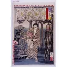 Tsukioka Yoshitoshi: 「近世人物誌」「やまと新聞附録 第五」 - Waseda University Theatre Museum