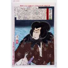 月岡芳年: 「近世人物誌」「やまと新聞附録 第十二」 - 演劇博物館デジタル