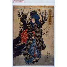 Utagawa Yoshikazu: 「美玉花の風俗」 - Waseda University Theatre Museum