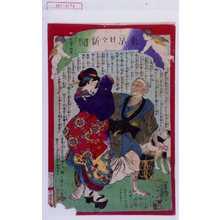 落合芳幾: 「東京日々新聞 七百五十四号」 - 演劇博物館デジタル