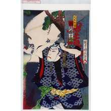 国政: 「くも介権 市川権十郎」 - Waseda University Theatre Museum