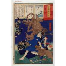 Ochiai Yoshiiku: 「今様擬源氏 十三」 - Waseda University Theatre Museum