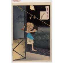 Tsukioka Yoshitoshi: 「月百姿」「孤家月」 - Waseda University Theatre Museum