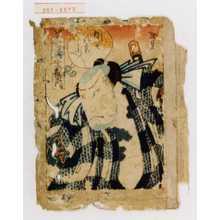 Utagawa Hirosada: 「世話水滸伝之内」「団七九郎兵衛」 - Waseda University Theatre Museum