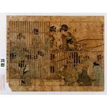 Kitagawa Utamaro: 「歌麿筆曲中年中行事之内」「夜見世の図」 - Waseda University Theatre Museum
