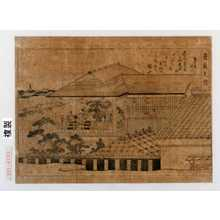 Kitagawa Utamaro: [「歌麿筆曲中年中行事之内」]「良夜之図」 - Waseda University Theatre Museum