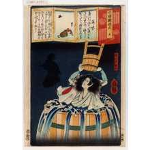 Ochiai Yoshiiku: 「今様擬源氏 五」 - Waseda University Theatre Museum