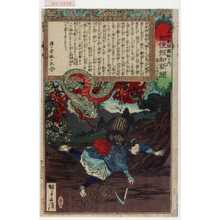 Kobayashi Eitaku: 「各種新聞図解の内 郵便報知新聞 第三百四十七号」 - Waseda University Theatre Museum