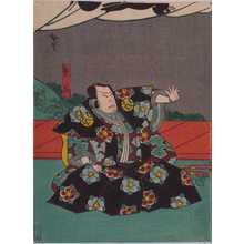 Utagawa Hirosada: 「熊谷」 - Waseda University Theatre Museum