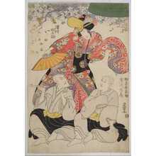 Utagawa Toyokuni I: 「沢村田之助」「助高屋高助」「市川市蔵」 - Waseda University Theatre Museum