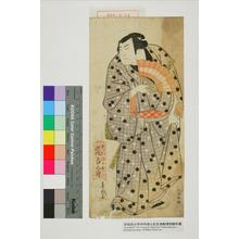 Shunkosai Hokushu: 「岩川次郎吉 嵐吉三郎」 - Waseda University Theatre Museum