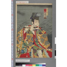 Toyohara Kunichika: 「平井保昌 市川団十郎」 - Waseda University Theatre Museum