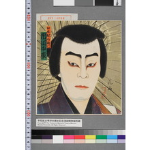 花山: 「日本駄右衛門 市川中車」 - 演劇博物館デジタル