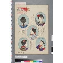 国梅: 「改良束[髪之図]」 - 演劇博物館デジタル