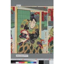 Toyohara Kunichika: 「盛とう 市川団十郎」 - Waseda University Theatre Museum