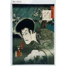 Utagawa Kunisada: 「見立三十六歌撰之内」「清玄」 - Waseda University Theatre Museum