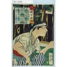 Tsukioka Yoshitoshi: 「魁題百撰相」「土屋惣蔵」 - Waseda University Theatre Museum