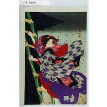 Tsukioka Yoshitoshi: 「松竹梅湯嶋掛額」 - Waseda University Theatre Museum