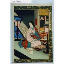 Kobayashi Kiyochika: 「浮世画類考之内 慶長五年之項」 - Waseda University Theatre Museum