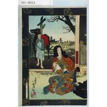 Kobayashi Kiyochika: 「山内一豊」 - Waseda University Theatre Museum