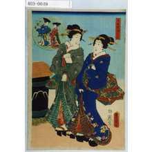 Utagawa Kunisada: 「忠臣蔵絵兄弟」 - Waseda University Theatre Museum