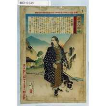 Tsukioka Yoshitoshi: 「近世人物誌」 - Waseda University Theatre Museum