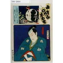 Toyohara Kunichika: 「み立いろはあわせ」「桃ノ井若狭之助」 - Waseda University Theatre Museum