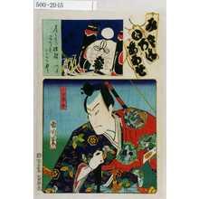 Toyohara Kunichika: 「み立いろはあわせ」「小田春永」 - Waseda University Theatre Museum