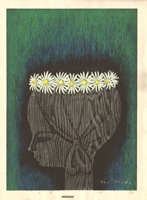 Ikeda Shuzo: White Flowers - Asian Collection Internet Auction