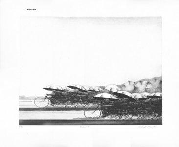 Kuroda, Shigeki: Riders B - Asian Collection Internet Auction