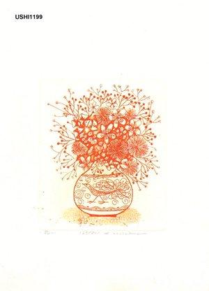 Ushiku, Kenji: HANA (flowers) - Asian Collection Internet Auction