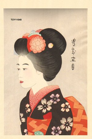 After Yamamura, Toyonari: A Dancer of Kyoto - Asian Collection Internet Auction