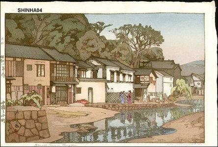 Yoshida Hiroshi: Small Town in Chugoku - Asian Collection Internet Auction