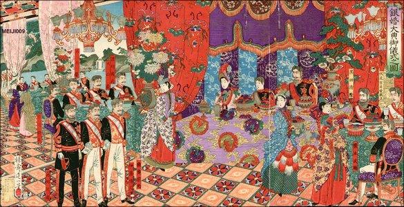 Watanabe Nobukazu: Emperor and Empress silver Anniversary - Asian Collection Internet Auction