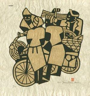 Mori Yoshitoshi: Pedlars - Asian Collection Internet Auction