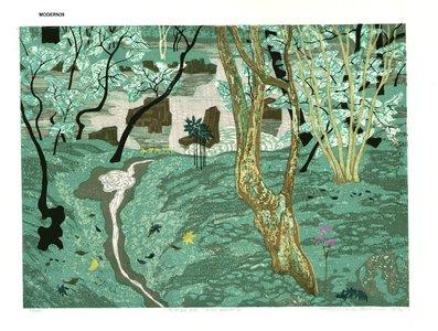 北岡文雄: Moss Garden - Asian Collection Internet Auction