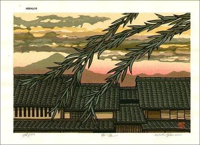 Nishijima Katsuyuki: Horikawa Street - Asian Collection Internet Auction