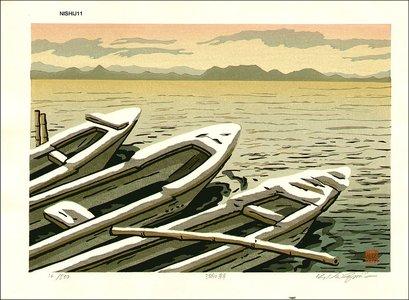 Nishijima Katsuyuki: Lake in the Morning - Asian Collection Internet Auction