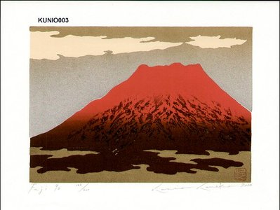 Kaneko, Kunio: Fuji 90 - Asian Collection Internet Auction